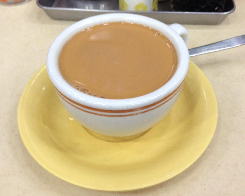 Hong Kong Tea with Milk